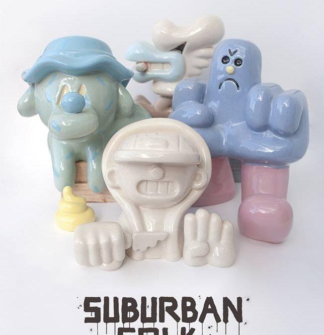 "GR170 ""Suburban Folk"". Montana Gallery Barcelona."