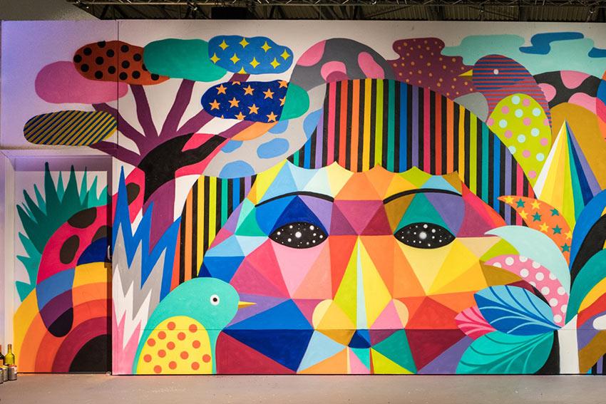 Streets of color. OKUDA & 3TTMAN. Stockholm.