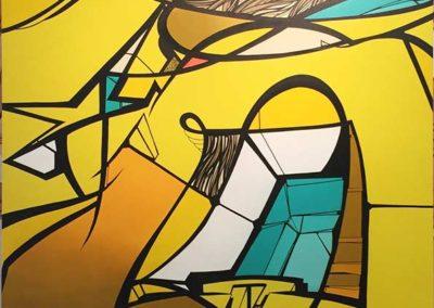 RESO-_Yellow_-aérosol-et-acrylique-sur-toile-courtesy-Adda-&-Taxie-Gallery