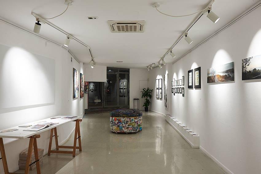 """Next Level""(Hitnes, Marat Morik, Same84, Vesod). Montana Gallery Barcelona. OPENING"
